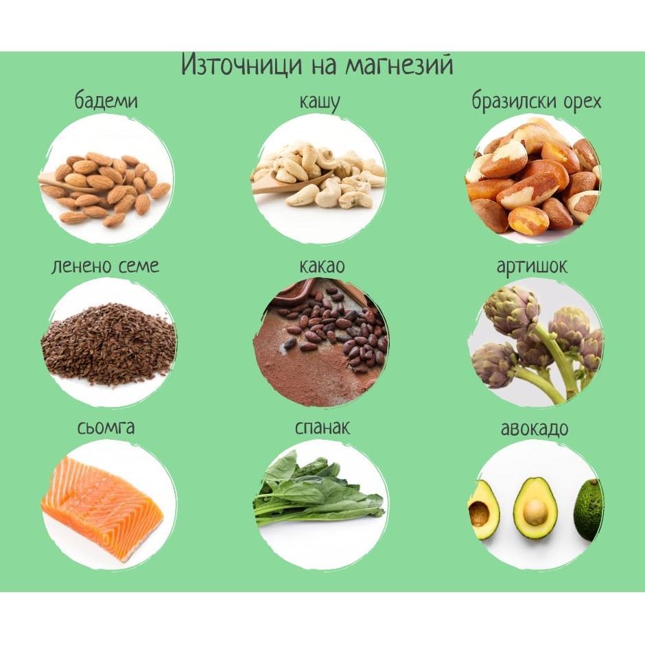 hrani bogati na magnezii