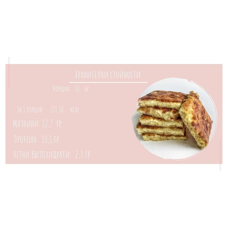 niskovaglehidratna recepta za banitsa