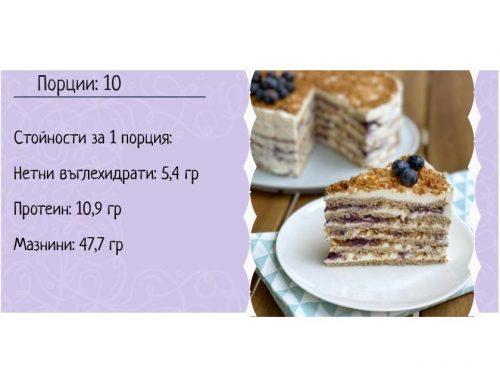 Кето френска селска торта