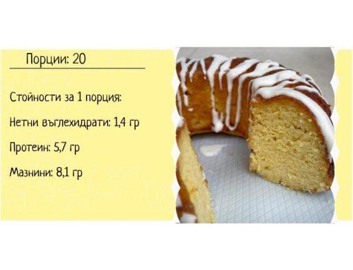 Kето лимонов кекс